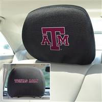 "Texas A&M University Head Rest Cover 10""x13"""