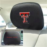 "Texas Tech University Head Rest Cover 10""x13"""