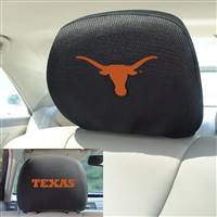 "University of Texas Head Rest Cover 10""x13"""