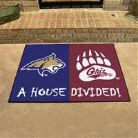 "House Divided - Montana / Montana State House Divided Mat 33.75""x42.5"""