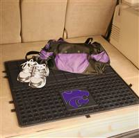"Kansas State University Heavy Duty Vinyl Cargo Mat 31""x31"""