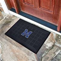 "University of Memphis Medallion Door Mat 19.5""x31.25"""