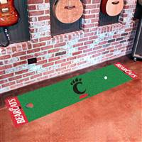 "University of Cincinnati Putting Green Mat 18""x72"""