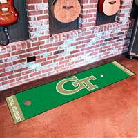"Georgia Tech Putting Green Mat 18""x72"""