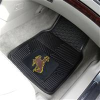 "University of Wyoming 2-pc Vinyl Car Mat Set 17""x27"""