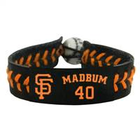 San Francisco Giants Bracelet Team Color Baseball Madison Bumgarner