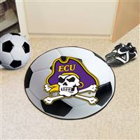 "East Carolina University Soccer Ball Mat 27"" diameter"