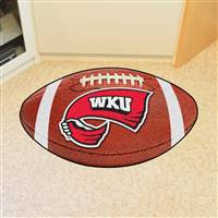 "Western Kentucky University Football Mat 20.5""x32.5"""