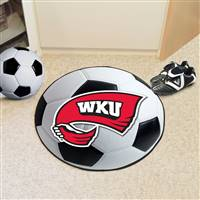 "Western Kentucky University Soccer Ball Mat 27"" diameter"