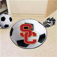 "University of Southern California Soccer Ball Mat 27"" diameter"