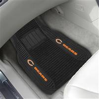 "NFL - Chicago Bears 2-pc Deluxe Car Mat Set 21""x27"""