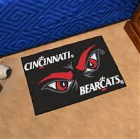 "University of Cincinnati Uniform Starter Mat 19""x30"""