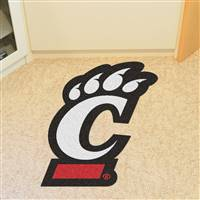 "University of Cincinnati Mascot Mat 27.7"" x 40"""