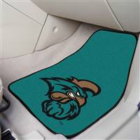 "Coastal Carolina University 2-pc Carpet Car Mat Set 17""x27"""