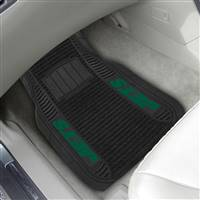 "NFL - New York Jets 2-pc Deluxe Car Mat Set 21""x27"""