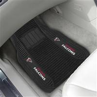 "NFL - Atlanta Falcons 2-pc Deluxe Car Mat Set 21""x27"""
