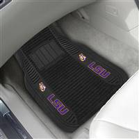 "Louisiana State University 2-pc Deluxe Car Mat Set 21""x27"""