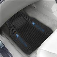 "University of Kentucky 2-pc Deluxe Car Mat Set 21""x27"""