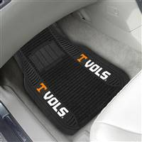 "University of Tennessee 2-pc Deluxe Car Mat Set 21""x27"""