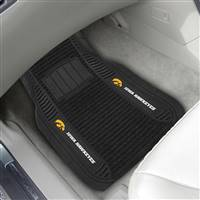 "University of Iowa 2-pc Deluxe Car Mat Set 21""x27"""