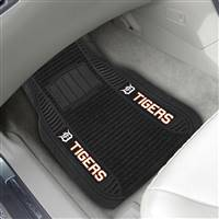 "Detroit Tigers 2-pc Deluxe Car Mat Set 21""x27"""