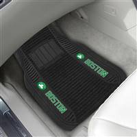 "NBA - Boston Celtics 2-pc Deluxe Car Mat Set 21""x27"""