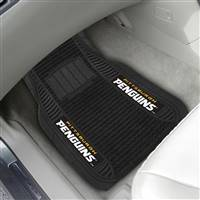 "NHL - Pittsburgh Penguins 2-pc Deluxe Car Mat Set 21""x27"""