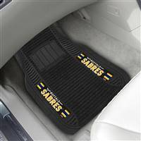 "NHL - Buffalo Sabres 2-pc Deluxe Car Mat Set 21""x27"""