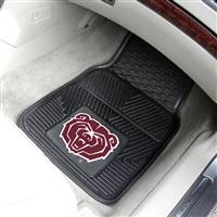 "Missouri State University 2-pc Vinyl Car Mat Set 17""x27"""