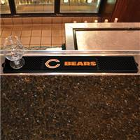 "NFL - Chicago Bears Drink Mat 3.25""x24"""