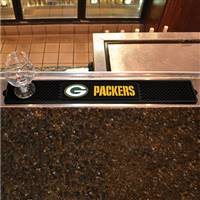 "NFL - Green Bay Packers Drink Mat 3.25""x24"""