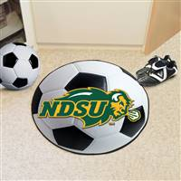 "North Dakota State University Soccer Ball Mat 27"" diameter"