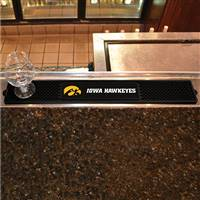 "University of Iowa Drink Mat 3.25""x24"""