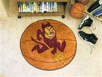 "Arizona State Sun Devils Basketball Rug 29"" Diameter"