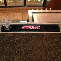 "University of Louisville Drink Mat 3.25""x24"""