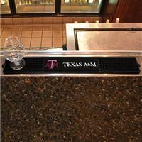 "Texas A&M University Drink Mat 3.25""x24"""