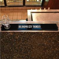 "NBA - Oklahoma City Thunder Drink Mat 3.25""x24"""