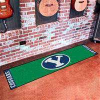 "Brigham Young University Putting Green Mat 18""x72"""