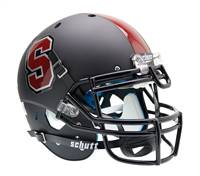 Stanford Cardinal Schutt Authentic XP Full Size Helmet - Black Alternate Helmet #1 - Special Order