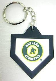Oakland Athletics Keychain - Home Plate
