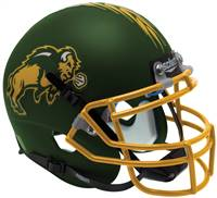 North Dakota State Bison Schutt Mini Helmet Green Alternate 1 - Special Order