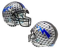 Air Force Falcons Schutt XP Authentic Full Size Helmet - Aquatech Alternate Helmet 4 - Special Order