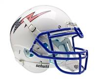 Air Force Falcons Schutt Authentic XP Full Size Helmet - White Alternate Helmet 2 - Special Order