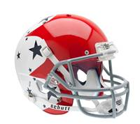 Air Force Falcons Schutt XP Full Size Replica Helmet - Alternate Helmet #1 w/ Blue Stars - Special Order