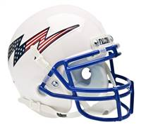 Air Force Falcons Schutt Full Size Replica Helmet - White Alternate Helmet #2 - Special Order