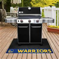 "NBA - Golden State Warriors Grill Mat 26""x42"""
