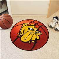 "Minnesota Duluth Bulldogs Basketball Rug 29"" diameter"