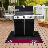 "NHL - Colorado Avalanche Grill Mat 26""x42"""