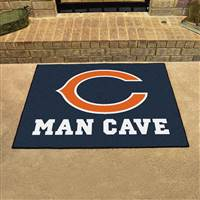 "NFL - Chicago Bears Man Cave All-Star 33.75""x42.5"""