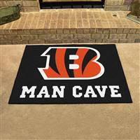 "NFL - Cincinnati Bengals Man Cave All-Star 33.75""x42.5"""